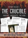 Crucible Unit Materials, Worksheets, Projects, and More! -