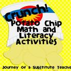 Crunch! Potato Chip Math and Literacy Centers