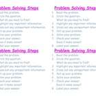 Cue Cards for Problem Solving