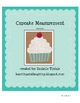 Cupcake Measurement Math Center
