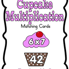 Cupcake Multiplication Cards
