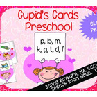 Cupid's Cards: Preschool Valentine's Day Articulation