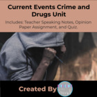 Current Events Crime and Drugs Unit