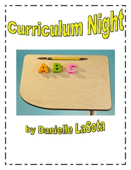 Curriculum and Parent Night