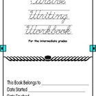 Cursive Writing Workbook