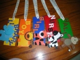 Custom Made Wooden Hall Passes