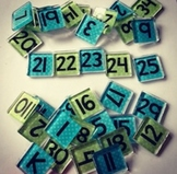 Custom Square Magnets {set of 35}
