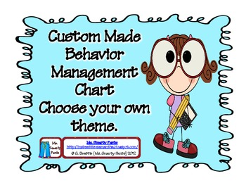 Custom Theme Behavior Management Signs