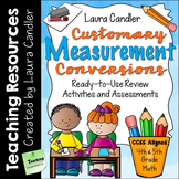 Measurement - Customary Measurement Conversions for 4th an