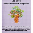 Customizable Lap Book Template and Instructions