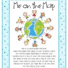Customizable Me on the Map Book - Any State