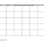 Customizable Planbook Template