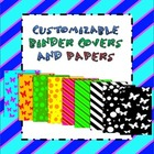 Customizable binder covers {+ papers}