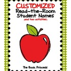 Customized Read-the-Room: Student Names