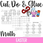 Cut, Do & Glue- Easter Math