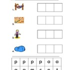 Cut & Paste Word Family Worksheets