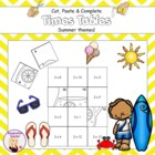 Cut, Paste and Complete - Times Tables