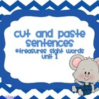 Cut and Paste Sentences (Treasures Unit 1)