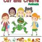 Cut and Tie Animal Friends Cut-outs