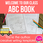 Cute ABC Book Template