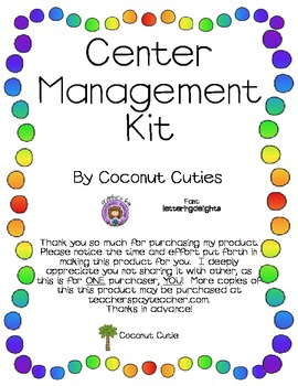 Cute Center Management Kit