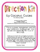 Cute Classroom Direction Kit