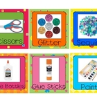 Cute Classroom Supply Labels