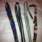 Cute, Cotton, Washable Lanyards! 