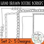 Cute Doodle Frames- Clip Art