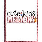 Cute Kids Memory Game