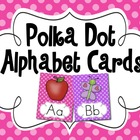 Cute Polka Dot Alphabet Posters