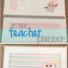 Cute Teacher Calendar / Planner Owl Theme