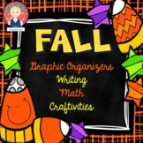 Fall Graphic Organizers, Writing Templates, Math Activitie