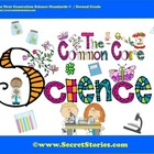 Cutest EVER Common Core SCIENCE STANDARDS Posters for Seco