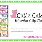 Cutie Cats Behavior Clip Chart