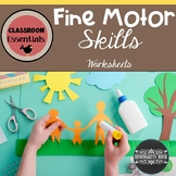 Cutting, Gluing & Drawing: Fine Motor Practice
