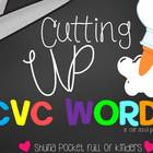 Cutting Up! { A CVC Cut and Paste No Prep Pack }