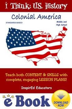 D3101 Colonial America - COMPLETE eBOOK UNIT