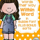 Word Study - Within Word - Words Their Way