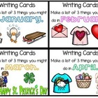 WRITING - Writing Cards - 5th set - How-To & Months