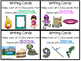 D5 Work on Writing - Writing Cards - 7th set - Fact and Op