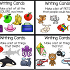 WRITING - Writing Cards for List Making & More