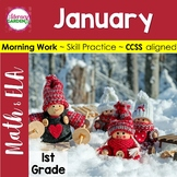 DAILY COMMON CORE & MORE - January  {1st Grade}
