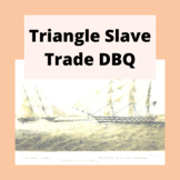 DBQ: Triangle Slave Trade-Common Core State Standards CCSS