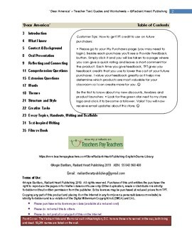 DEAR AMERICA-Letters Home from Vietnam Ed by Edelman Worksheets