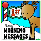 DECEMBER - Easy Morning Messages - 1st Grade