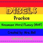 DIBELS nonsense word fluency Pack