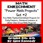 DIFFERENTIATED MATH POWER PROJECT CHOICES WEEK #2