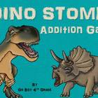 DINO STOMP addition game