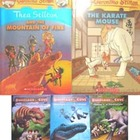 NEW DINOSAUR COVE rex stone THEA GERONIMO STILTON karate m